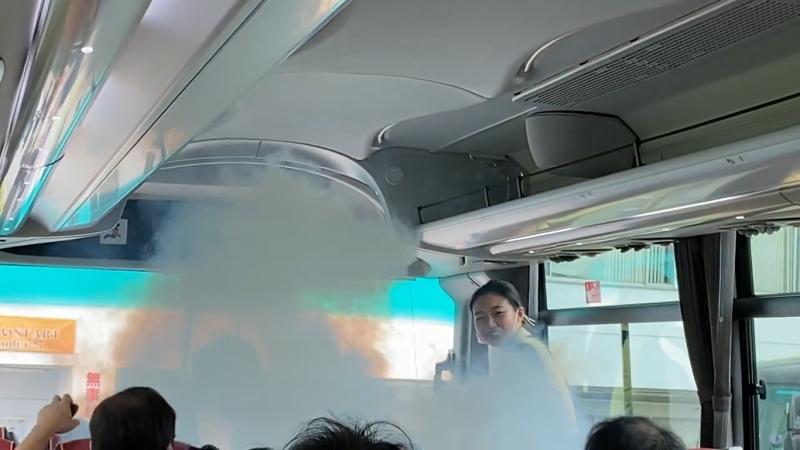 バスの換気