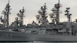 日本のイージス艦