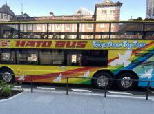 はとバスのオープンバス